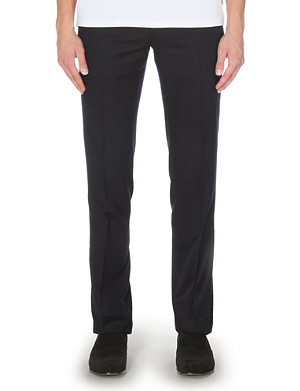 RALPH LAUREN BLACK LABEL Nigel slim-fit wool trousers