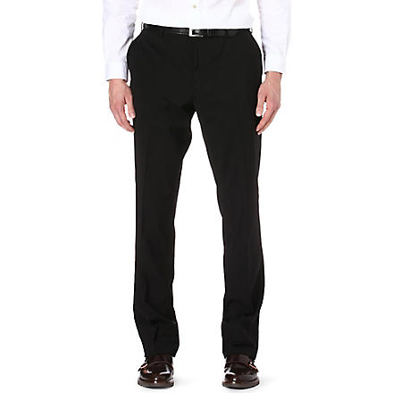 RALPH LAUREN BLACK LABEL Anthony straight trousers (Black