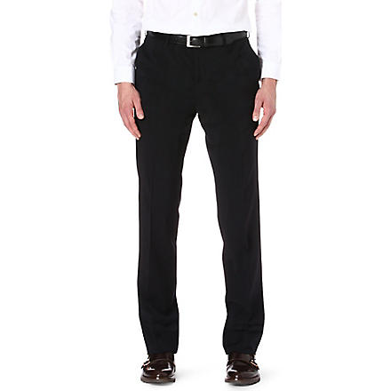 RALPH LAUREN BLACK LABEL Anthony straight trousers (Navy