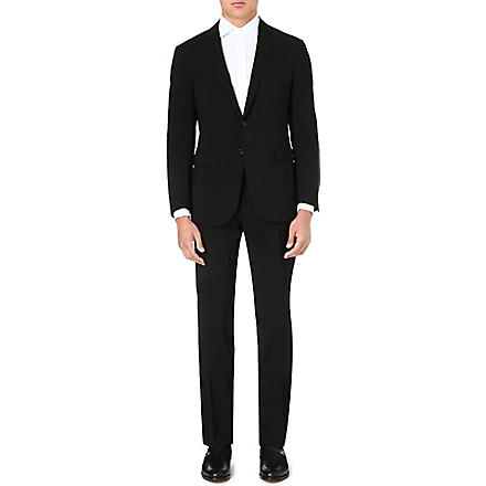 RALPH LAUREN BLACK LABEL St Nigel single-breasted wool suit (Black