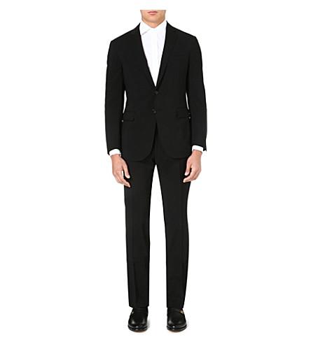 RALPH LAUREN BLACK LABEL St Nigel single-breasted wool suit (Black