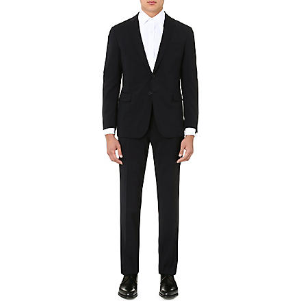 RALPH LAUREN BLACK LABEL St Nigel single-breasted wool suit (Navy