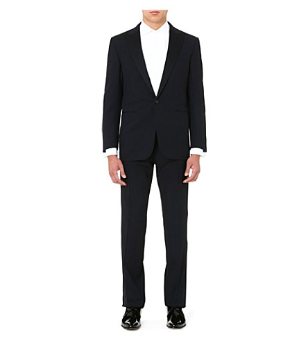 RALPH LAUREN BLACK LABEL St Anthony wool suit (Navy