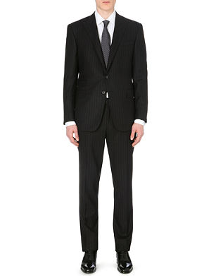RALPH LAUREN BLACK LABEL Austin pinstripe wool suit