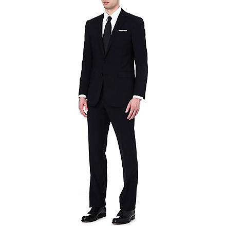 RALPH LAUREN BLACK LABEL Anthony two-button wool suit (Navy