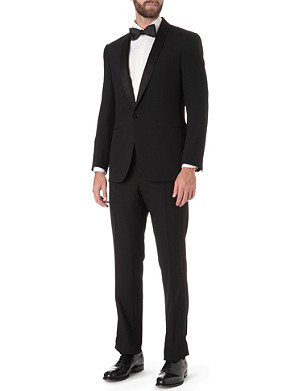 RALPH LAUREN BLACK LABEL Shawl collar tuxedo