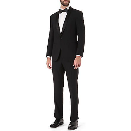 RALPH LAUREN BLACK LABEL Shawl collar tuxedo (Black