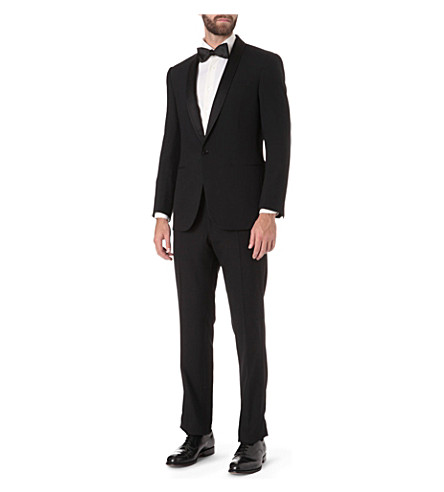 RALPH LAUREN BLACK LABEL Shawl collar tuxedo (Black