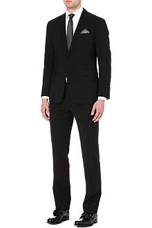 RALPH LAUREN BLACK LABEL Nigel single-breasted wool suit