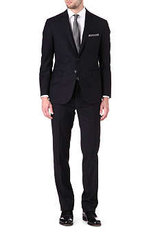 RALPH LAUREN BLACK LABEL Nigel two-button wool suit
