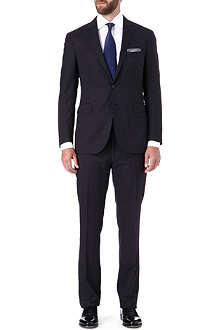RALPH LAUREN BLACK LABEL Nigel lightweight textured wool suit