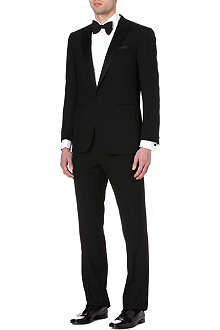 RALPH LAUREN BLACK LABEL Single-breasted wool tuxedo