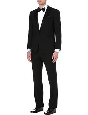RALPH LAUREN BLACK LABEL Single-breasted wool tuxedo