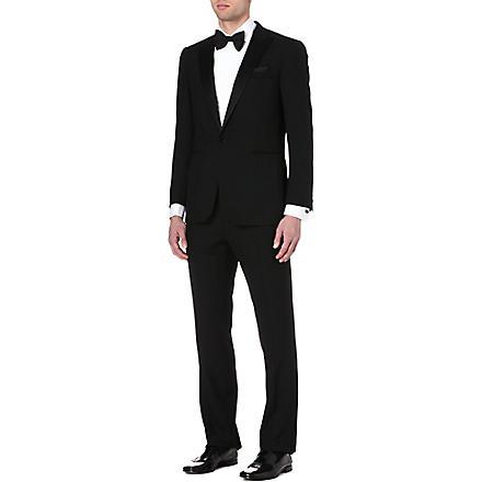 RALPH LAUREN BLACK LABEL Single-breasted wool tuxedo (Black