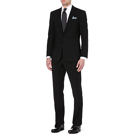 RALPH LAUREN BLACK LABEL Single-breasted wool suit (Black