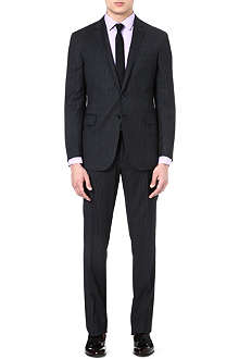 RALPH LAUREN BLACK LABEL Nigel pinstripe wool suit