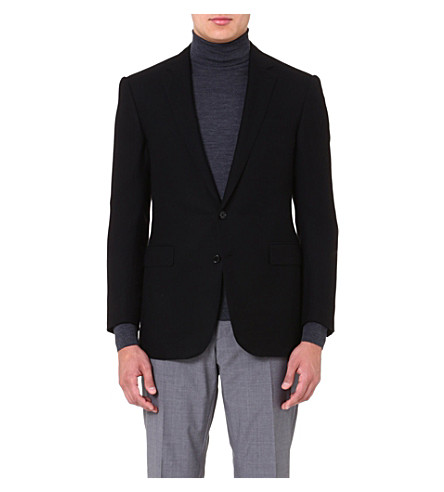 RALPH LAUREN BLACK LABEL Anthony cashmere suit jacket (Black