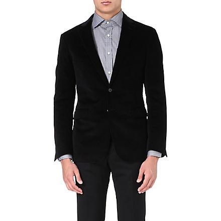 RALPH LAUREN BLACK LABEL St Nigel corduroy jacket (Black