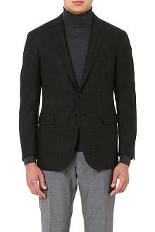 RALPH LAUREN BLACK LABEL St Nigel wool-blend suit jacket