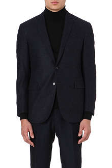RALPH LAUREN BLACK LABEL Nigel single-breasted wool blazer