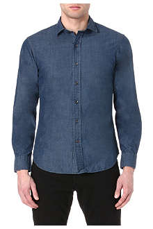RALPH LAUREN BLACK LABEL Regular-fit denim shirt