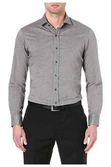 RALPH LAUREN BLACK LABEL Slim-fit single-cuff shirt