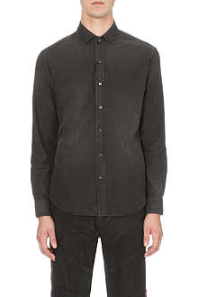 RALPH LAUREN BLACK LABEL Slim-fit denim shirt