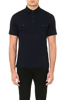 RALPH LAUREN BLACK LABEL Military polo shirt