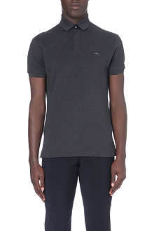 RALPH LAUREN BLACK LABEL Stretch-cotton polo shirt