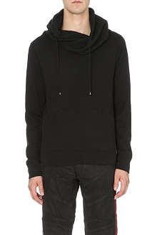 RALPH LAUREN BLACK LABEL Draped shawl hoody