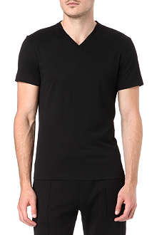 RALPH LAUREN BLACK LABEL Short sleeve v-neck t-shirt