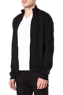 RALPH LAUREN BLACK LABEL Long sleeve solid mock neck top