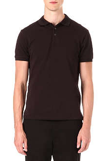RALPH LAUREN BLACK LABEL Cotton-mesh polo shirt