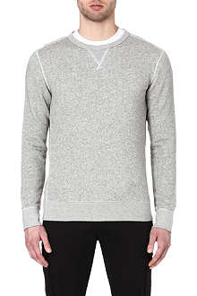 RALPH LAUREN BLACK LABEL Crew-neck cotton sweatshirt