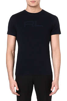RALPH LAUREN BLACK LABEL Logo cotton t-shirt
