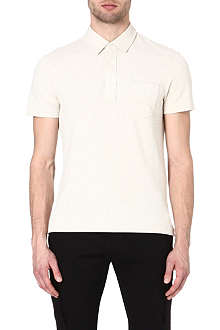 RALPH LAUREN BLACK LABEL Patch pocket polo shirt