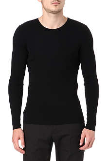 RALPH LAUREN BLACK LABEL Ribbed jumper