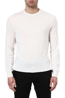 RALPH LAUREN BLACK LABEL Cashmere crew-neck jumper