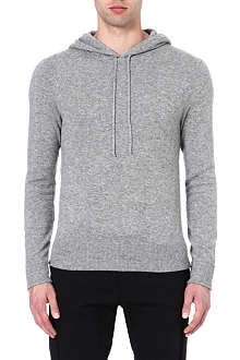 RALPH LAUREN BLACK LABEL Cashmere hoody