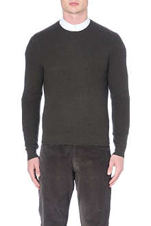 RALPH LAUREN BLACK LABEL Cashmere raglan sleeve jumper