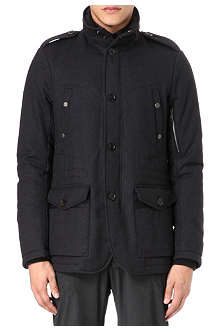 RALPH LAUREN BLACK LABEL Filled hybrid coat