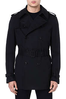 RALPH LAUREN BLACK LABEL Short trench coat