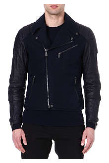 RALPH LAUREN BLACK LABEL Velocity biker jacket