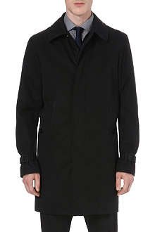 RALPH LAUREN BLACK LABEL Modern twill car coat