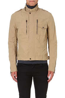 RALPH LAUREN BLACK LABEL Cruise cotton-blend bomber jacket