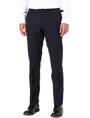 RALPH LAUREN BLACK LABEL James cotton trousers