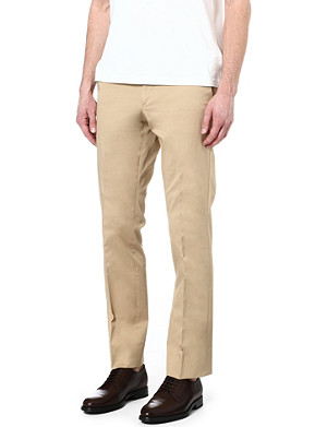 RALPH LAUREN BLACK LABEL James stretch-cotton trousers