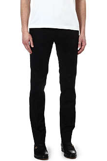 RALPH LAUREN BLACK LABEL Milano stretch-cotton trousers