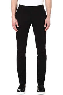RALPH LAUREN BLACK LABEL Stretch-cotton cargo trousers