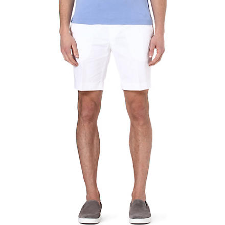 RALPH LAUREN BLACK LABEL James shorts (White